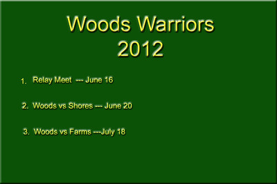Woods Warriors  2012