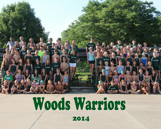 Woods Warriors 2014 - Team Photos
